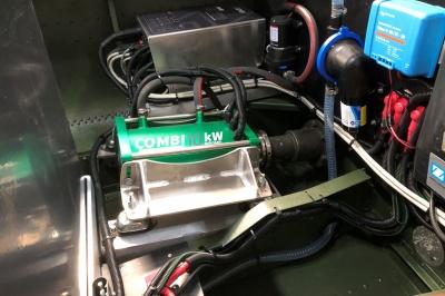 Combi Inboard 10kW Liquid Cooled double drive
