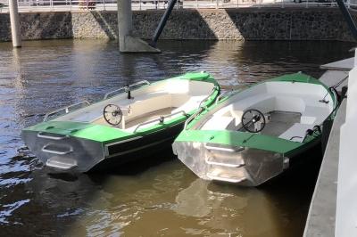 Combi H-Thruster in sloepen Green Joy