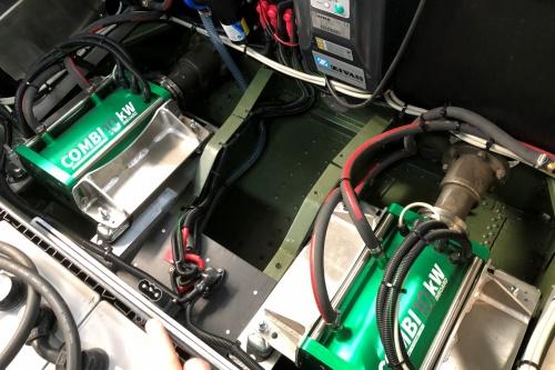 Combi Inboard 10kW Liquid Cooled dubbel uigevoerd