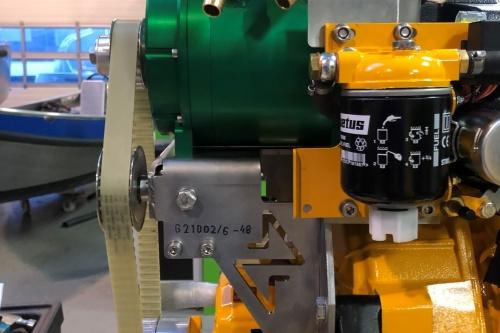 Combi 6kW Liquid Cooled Hybrid