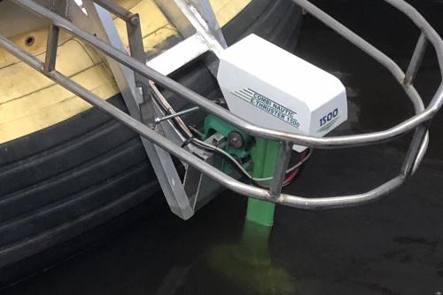 Combi E-Thruster 1,5kW voor BBQ boot groningen