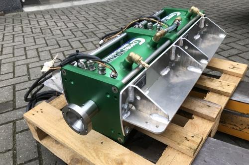 Combi Inboard 20kW Dual drive watergekoeld voor rondvaartsloep Amsterdam