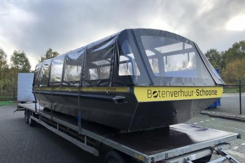 Krachtige Combi E-Thruster voor rondvaartboot